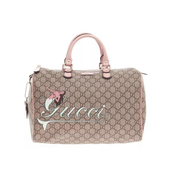 0035b96be40e Gucci Bags | Joy Boston Mermaid Pink Speedy Bag | Poshmark